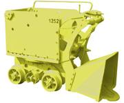 Mine shovel loader NL